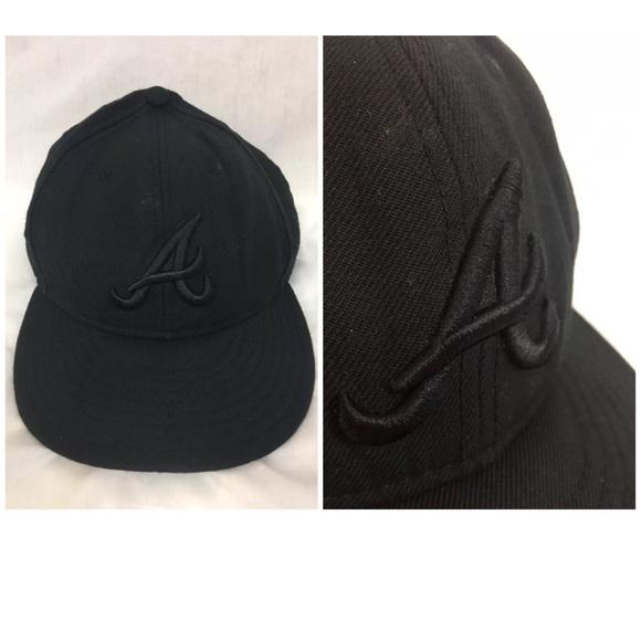 huge discount 520de 6d2c8 promo code vintage atlanta braves snapback hat fc4ef be56e  discount atlanta  braves new era 59fifty baseball cap hat 6484e 7f4a1